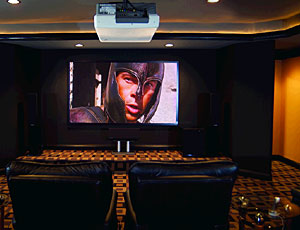 home theater display