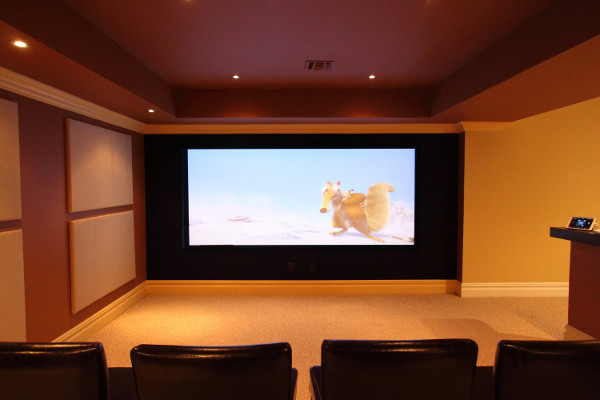 Superwide-Screen Theater