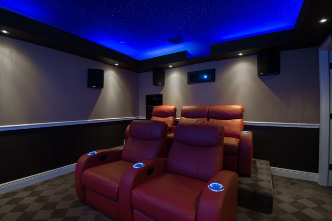 DIY Home Theater Design Inspired By Grandma