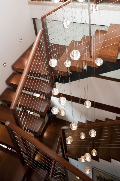 Lights on Staircase