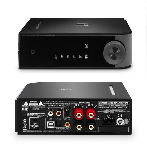 NAD Electronics D 3020 DAC/Amplifier