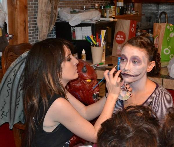 Makeup Prep.