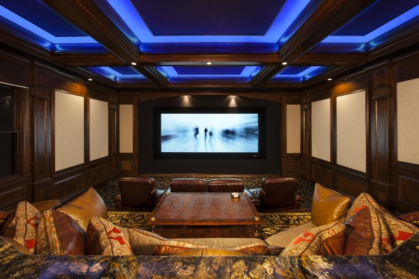 Great Home Theater Views