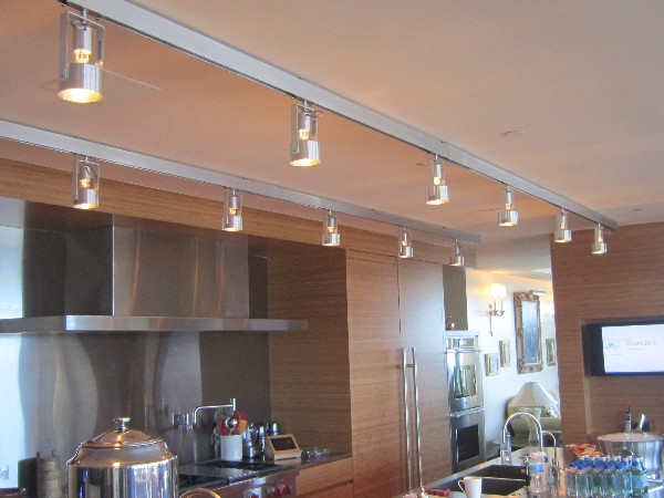 Kitchen Lights Controlled by Vantage