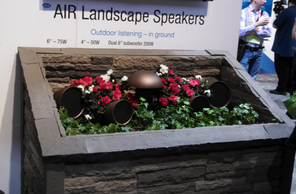 Crestron AIR Landscape Speakers