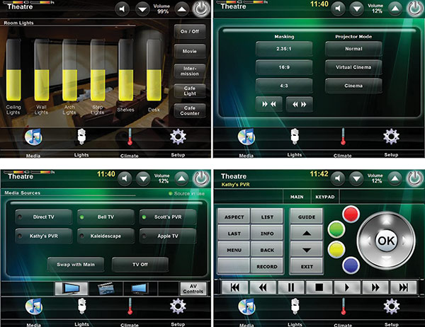 Crestron User Interface