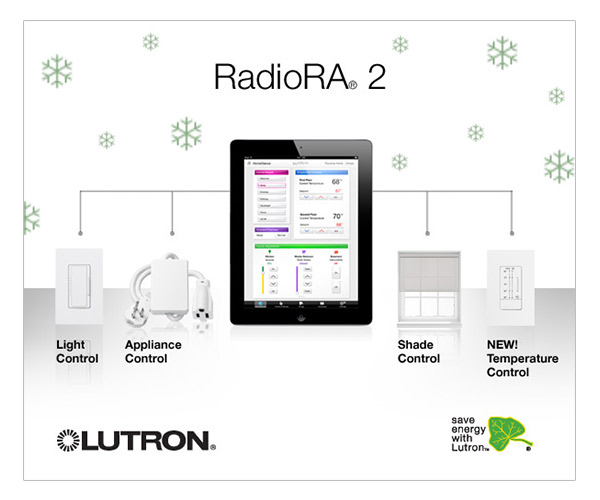 RadioRA 2 Home Control System from Lutron