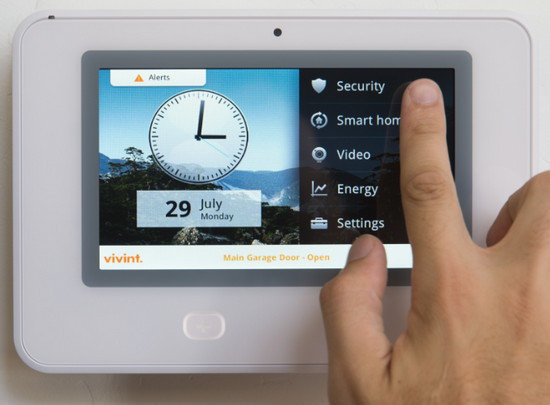 Touchscreen and Home Automation Interface