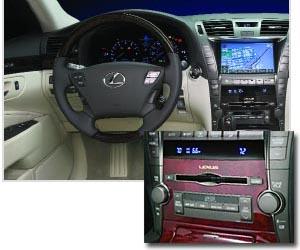Lexus LS 460 audio system