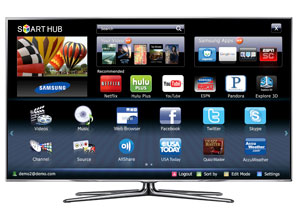 Smart TVs by Samsung