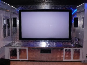 This couple's Terminator-inspired home theater