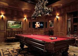 Home of the Year pool table