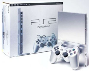 Silver PlayStation2