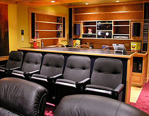 Bars in Home Theaters