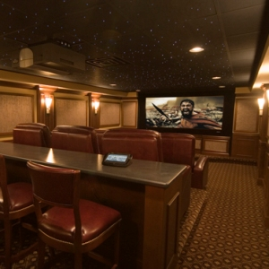 A.J. Burnett Gets All-Star Home Theater