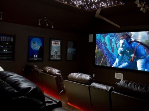 A well-done home theater is inclusive, comfortable, and- most importantly- not noticeable once the movie's on.