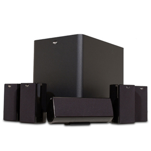 hot deal klipsch hd 500 compact 5 1 home theater system eh network. Black Bedroom Furniture Sets. Home Design Ideas