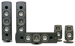 Klipsch Quintet SL 5-Piece Home Theater System