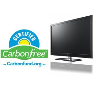 LG's 'carbon-free' certified products