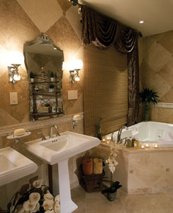 lutron bathroom