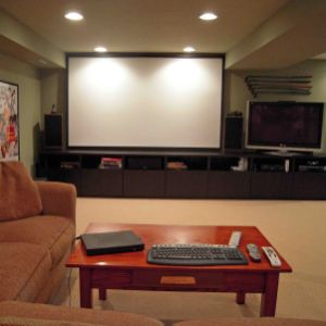 Gardner fox wins top awards for best finished basement - Media Rooms In Basements Gustitosmios