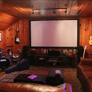 Secretariat's Home Theater?
