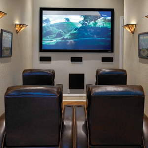 An overview of a home theater design images frompo for 10x15 room design