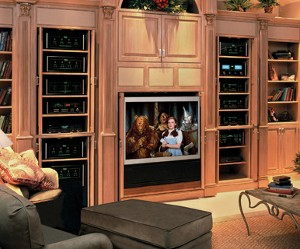 A Home Theater, dating back to 2004