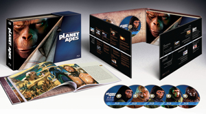 Planet of the Apes 40-Year Evolution Blu-ray Collection