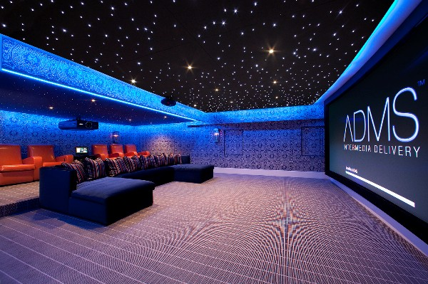 3d home theater features 180 inch screen electronic house. Black Bedroom Furniture Sets. Home Design Ideas