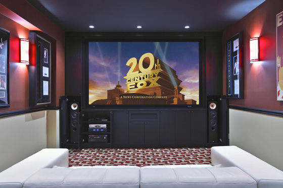 Home Theater Hangout Built For Under 35k Electronic House