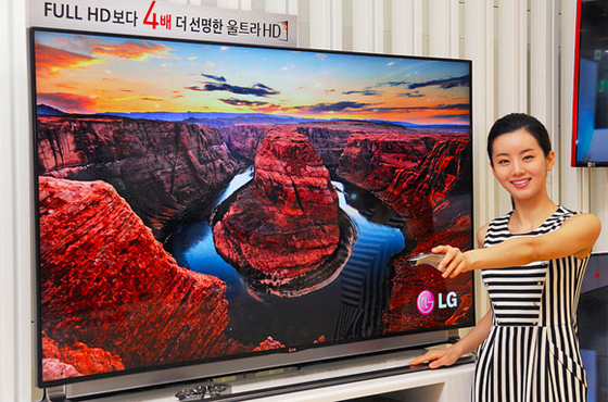 lg starts pre orders for smaller 4k tvs in korea. Black Bedroom Furniture Sets. Home Design Ideas
