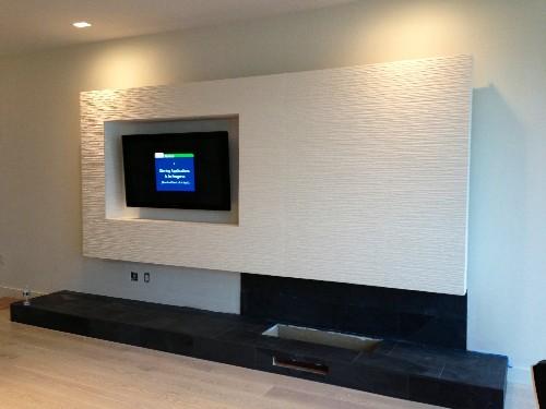 Tv rack modern  Modern Mounting for Flat-Panel - Electronic House