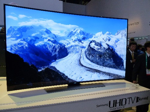 samsung 78 curved tv. what did ces do for 4k ultra hd tv? samsung 78 curved tv s