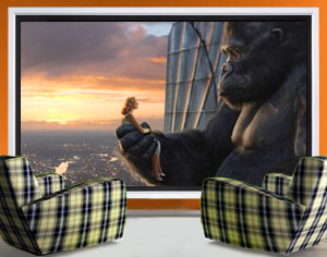 big tv vs room size