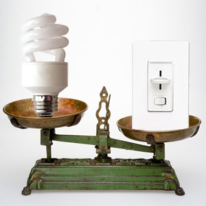 cfl vs. dimmer