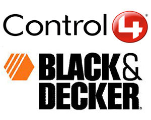 Control4 Black & Decker Logo