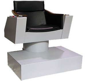 Diamond Select Toys Captain Kirk Chair