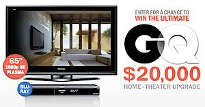 GQ Home Theater Sweepstakes