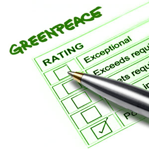 GreenPeace Report Card
