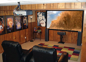 DIY Basement Theater
