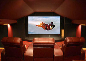 DIY Garage Theater