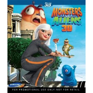 Monsters vs. Aliens 3D Blu-ray
