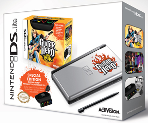 Nintendo DS Guitar Hero Bundle