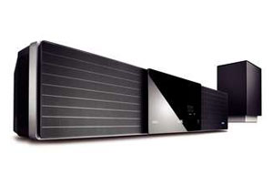 Philips HTS8100 Ambisound Soundbar DVD Home Theater System