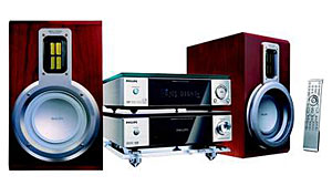 Philips MCD708 DVD Micro Theater Audio System