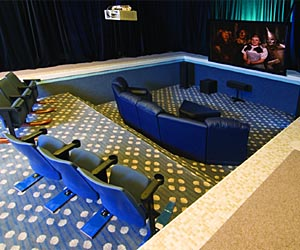 Pool Home Theater