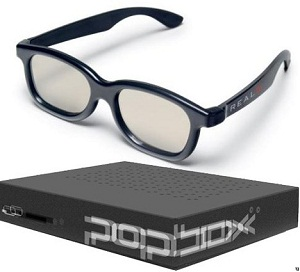 PopBox RealD 3D