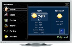 ReQuest HD-TV GUI