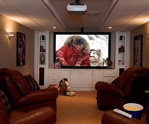 Retirement home theater